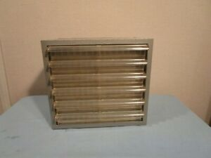 Vintage Akro Mils 6 Drawer Metal Storage Cabinet Tool Small Parts Bin 10x9 gray