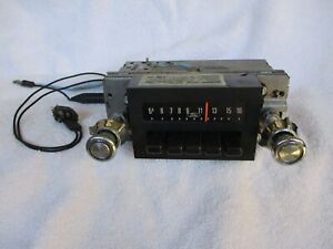 Authentic 1973 1979 Ford Truck Push button In dash Radio