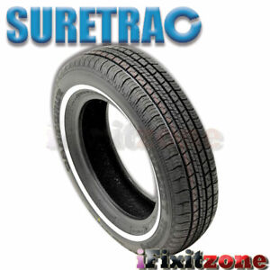 1 Suretrac Power Touring 215 70r15 97s White Wall All Season Performance Tires