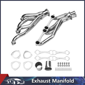 Exhaust Manifold Header Kit For Chevy Corvette 1958 1982 V8 Small Block Engine