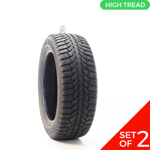 Set Of 2 Used 225 55r17 Gt Radial Champiro Icepro 97t 9 5 32