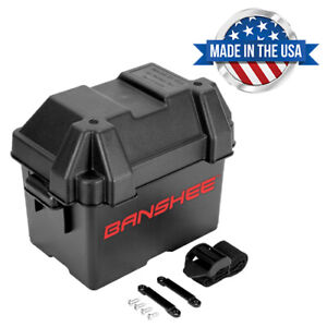 Group U1 Universal Battery Box With Strap Heavy Duty Marine Battery Box