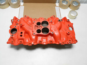 1973 1974 1975 Corvette Chevy 454 Orig Intake Manifold 336789 dated D 16 74