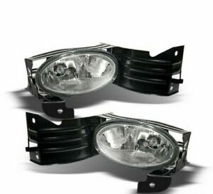 For 2008 2010 Honda Accord Coupe Driving Bumper Fog Lights Lamps W switch Lh rh
