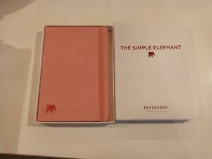The Simple Elephant Daily Planner Undated Pages Pink Papercode New