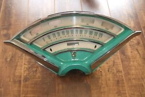 1955 Mercury Monterey Montclair Dash Speedometer Instrument Cluster Housing