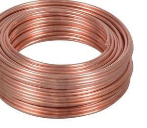 10 Awg Bare Copper Wire For Construction Applications Choose Temper Length