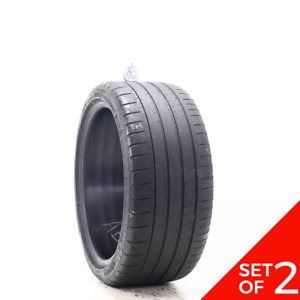 Set Of 2 Used 245 35zr18 Michelin Pilot Super Sport 92y 4 5 5 32