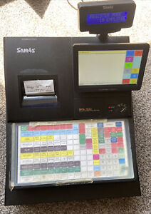 Sam4s Sps 530 Ft Touch Screen Pos Cash Register With Key Cash Drawer