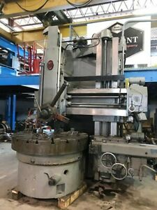 63 Tbl 71 Swg O m Vt1 16 Vertical Boring Mill Turret Side Head Faceplate