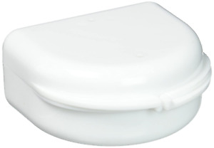 Dental Retainer Box Tray Denture Mouth Night Guard Case