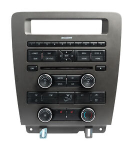 2010 Ford Mustang Audio Radio Climate Control Panel Bezel Ar3t 18a802 dg