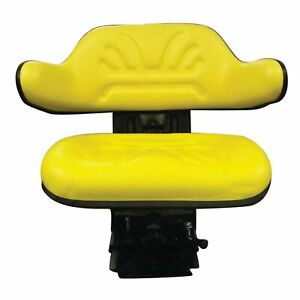 W223ylnew Multi Angle Yellow Wrap Around Seat For Tractor Mower