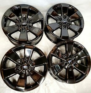 20 Ford Expedition F 150 Oem Black Wheels Rims 3833 3896 2014 2015 2016 2017
