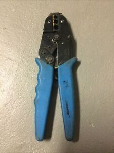 Preowned Ideal Crimpmaster Ratchet Crimp Tool No 30 582 Crimping Pliers
