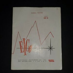 Eico 147a Signal Tracer Original Manual Electronic Instruments Co