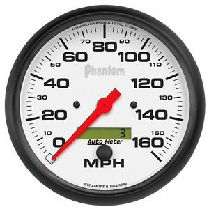5889 Autometer 5889 Phantom In Dash Electric Speedometer