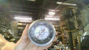 Vintage Aqua Meter Vintage Wood Old Boat Parts Speedometer Gauge 10 55 Mph