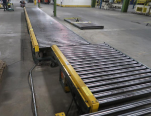Hytrol Pallet Conveyor Cdlr Power Roller 48 10 To 100 Lengths