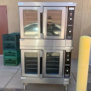 Used Hobart Hgc5 Gas Doubleconvection Oven