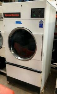 Used Speed Queen St075nmt 75lb Gas On premise Laundry Commercial Dryer