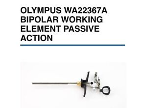 Olympus Wa22367a Bipolar Working Element Passive Action