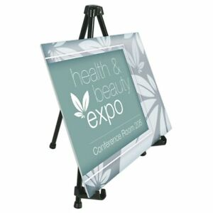 Office Depot Brand Tabletop Display Easel Black