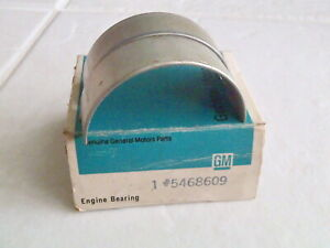 1961 1981 Pontiac Buick Olds Chevy Connecting Rod Bearing 5463932 Nos 12329989