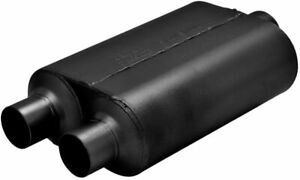 Flowmaster Super 40 409s Muffler 3 Center In 2 5 Dual Out Aggressive 8530452