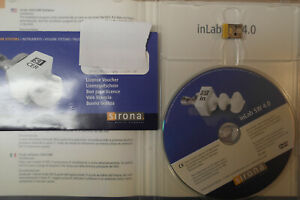Inlab 4 0 Software With Licence Sirona New Cerec