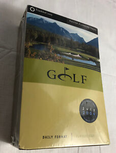New Franklin Covey Master Planning Pages Golf Daily Format Classic Size 5 5x8 5