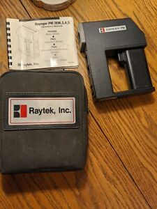 Raytek Raynger Pm Pm5ls Infrared Thermometer In Case With Manual Working Condion