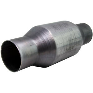 2 5 Inch Universal High Flow Performance Stainless Catalytic Converter 1 Piece