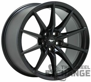 19x11 Ford Mustang Gt350 Shelby Black Wheel Rim Factory Oem 19 Rear 10054