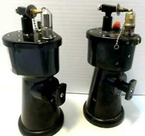 Lot Of 2 Alcohol Torch Model 26 Usa Waterpik Used Working Condition