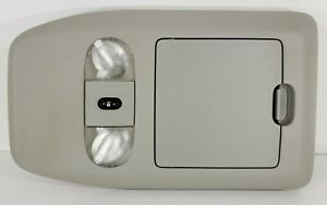 04 08 Ford F 150 Overhead Console With Storage And Rear Glass Switch Gray