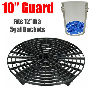 10 Black Guard Washboard Insert For Grit Car Wash Detailing Bucket Auto Care