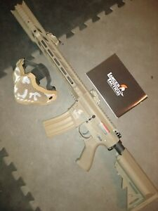 Lancer Tactical M4 SPR quot;Interceptorquot; LT 25 GEN 2 AEG TAN Airsoft $110.00