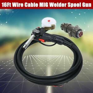 Spool Gun For Aluminum Welding For Mig Welders With 5m Wire Cable Welding Torch