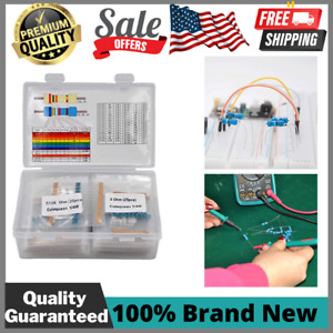 Cutequeen Values Compliant Resistor Kit Metal Film Resistors Assortment