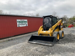 2018 Caterpillar 262d Skid Steer Loader W Cab Super Clean Only 3500 Hours