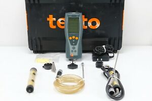 Testo 327 Electronic Flue Gas Combustion Analyzer