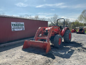 2016 Kubota M5640 4x4 56hp Utility Tractor W Loader Super Clean Only 1100hrs