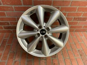 2007 2010 Alloy Mini Cooper 8 Spoke 7x17 Wheel Rim Oem 6791945