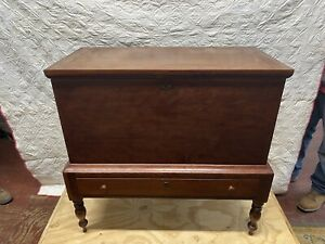 Handmade Solid Cherry Kentucky Dovetailed Sugar Chest