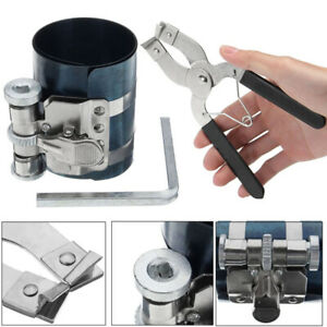 Hot Sale Piston Ring Compressor Ratchet Style piston Ring Installer Pliers Tool