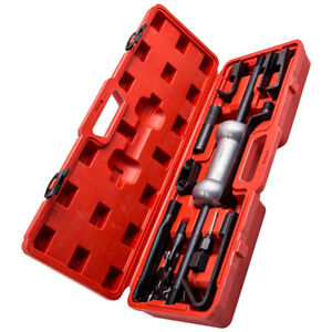 Dent Puller 10lbs Slide Hammer Auto Body Truck Attachments Repair Tool Kit