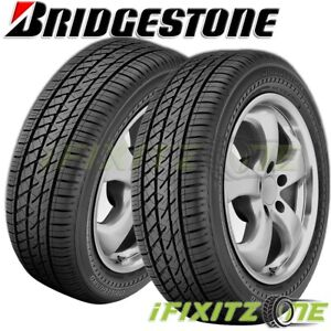 2 Bridgestone Driveguard Rft 205 55r16 91v All Season Performance Tires Runflat
