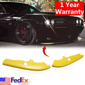 For Dodge Challenger R T Scat Pack 2015 2020 Front Bumper Lip Splitter Protector