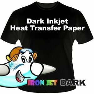 New Iron On Heat Transfer Paper Htv Soft Strech Dark Colors Shirt X50 Original 1